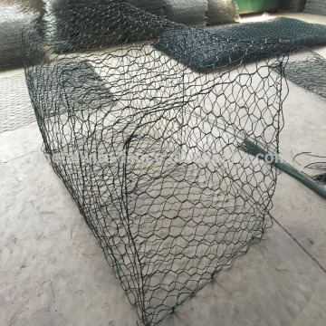 Galvanized or PVC coated Gabion stone cage