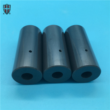wear resistant Si3N4 ceramic tube pipe sleeve bushing