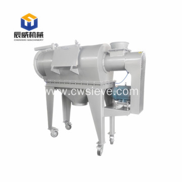 environmental centrifugal sifter for small particles