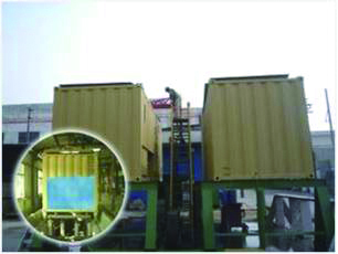 Bund test for MT Series Tank Container Type