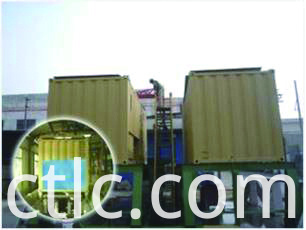Bund test for Gas Container Integrated Type