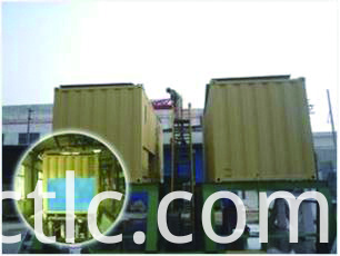 Bund test for Offshore DNV Rated Generator Container