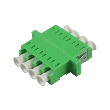Quad LC to LC SM Fiber Optic Adaptor