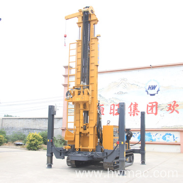 Crawler Rotary Water Well Drilling Rig 500M Depth