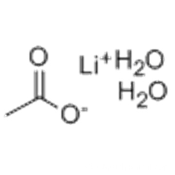Acetic acid,lithiumsalt,dihydrate CAS 6108-17-4
