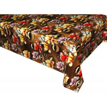 Pvc Printed fitted table covers Table Linens Number