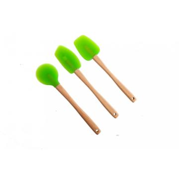 Quality Wholesale Silicone Spatula Wooden Handle