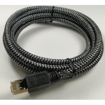 Cat8 Ethernet Network Cable For Patch Panel