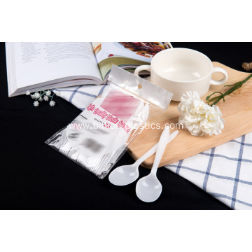 PP Disposable Plastic  Spoon