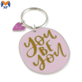 Metal Custom Charming Gift Keychain