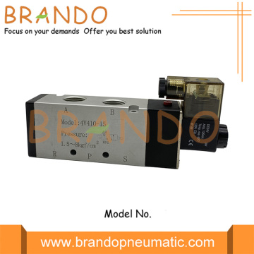 4V410-15 Terminal Box 1/2'' Pneumatic Solenoid Air Valve