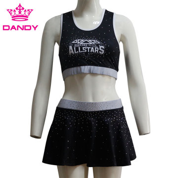 Full Dye Sublimation Crop Top With Skorts