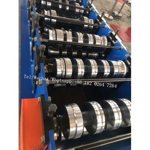 Standing seam roof sheet roll forming machine