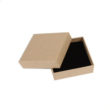 Kraft Paper Cardboard Packaging Boxes For Jewelry Packing
