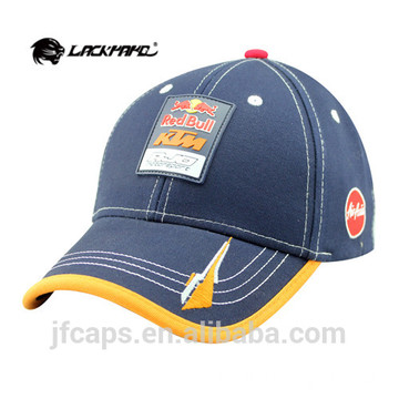 dark blue applique embroidery golf hats