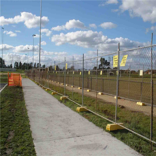 Cheap PVC Coated Canada Temporary Fence
