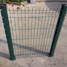 RAL6005 green Hot dip galvanized wire mesh fence panels