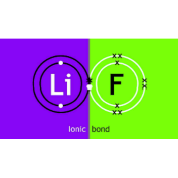 lithium fluoride valence electrons