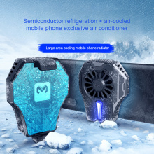 Mobile Phone Cooling Universal Semiconductor Radiator Phone USB Rechargeable Cooler Fan Game Pad Holder Stand Radiator Mute Fan