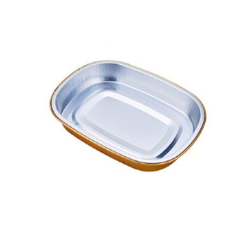 Disposable coated smooth wall Aluminum Foil Pan wholesale