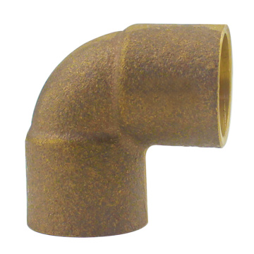 Solder Gunmetal Bronze Elbow