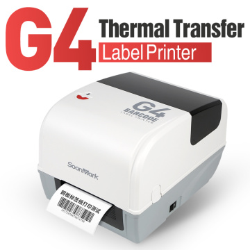 4 pulgada Thermal Transfer Jewellery Label Barcode printer