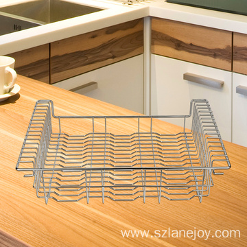 Dish Drying Rack Rustproof Dish Racks Kitchen Organizer Cup Holder Dish Drainer Large Drying Rack