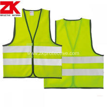 safety children vest with reflective tape and velcor