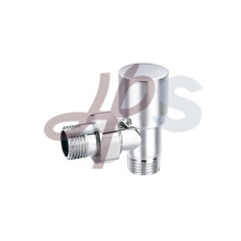 Brass radiator valves chrome plated