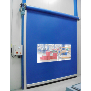 Industrial Exterior and Interior PVC roller door