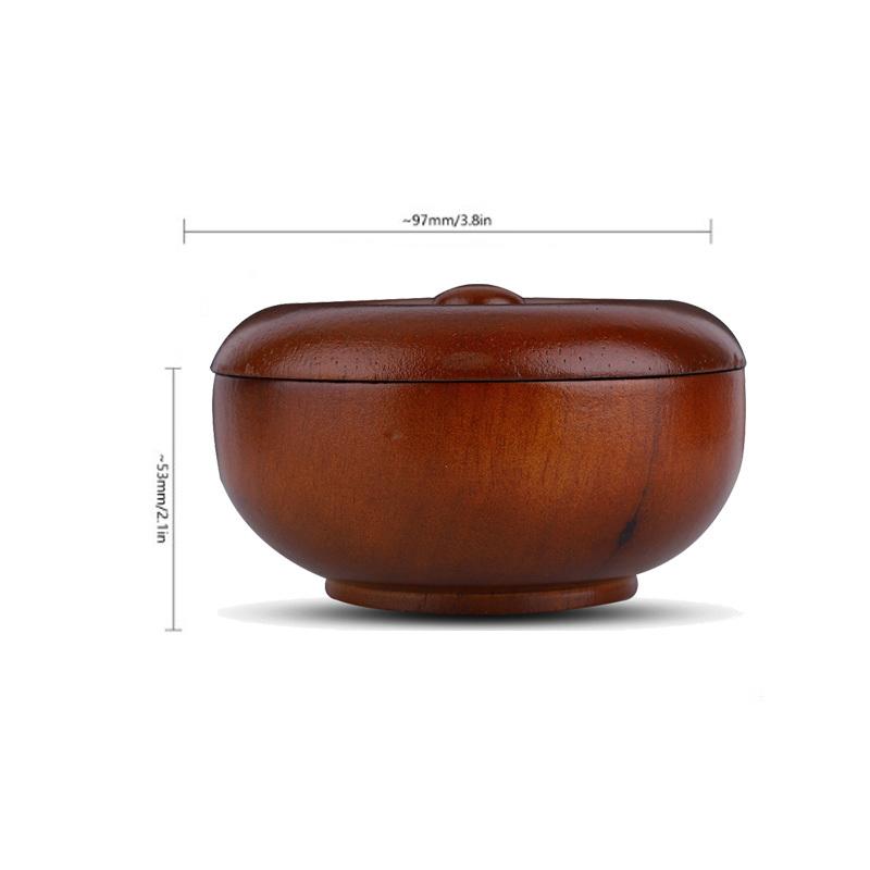 Wooden Shaving Brush Bowl High Quality Shaving Mug Shave Cream Soap Cup Portable bowl