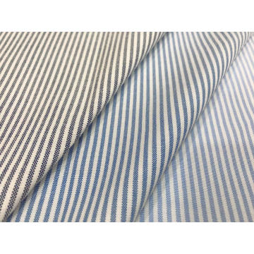 CVC Oxford Woven Stripe Fabric