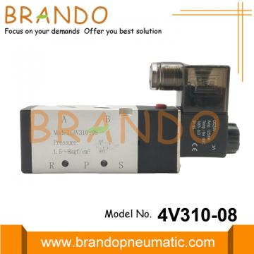 1/4'' 4V310-08 AirTAC Type Pneumatic Solenoid Valve
