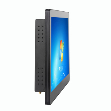 Bestview 23.6 inch industrial touch screen all in one panel pc windows linux wall mounted waterproof IP65 desktops computer