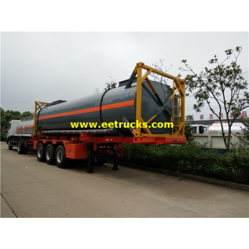 28cbm 20ft H2SO4 Tank Containers