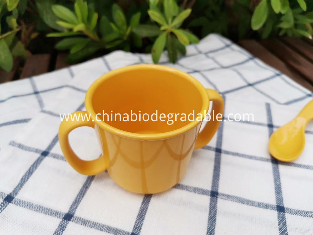 Compostable Natural Self-training Tableware Cup