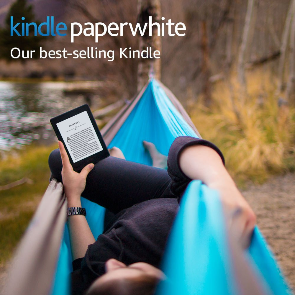Official Certified Refurbished Kindle Paperwhite 3nd Generation 4GB eBook e-ink Screen With built-in backlight e-Book Reader