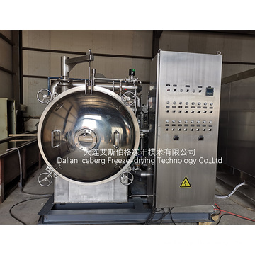 Vacuum Freeze Drying Pilot Plant