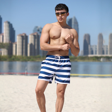 140GSM Polyester Digital Print Brief Man′s Swimming Short