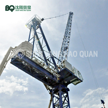 50m Luffing Jib Tower Crane