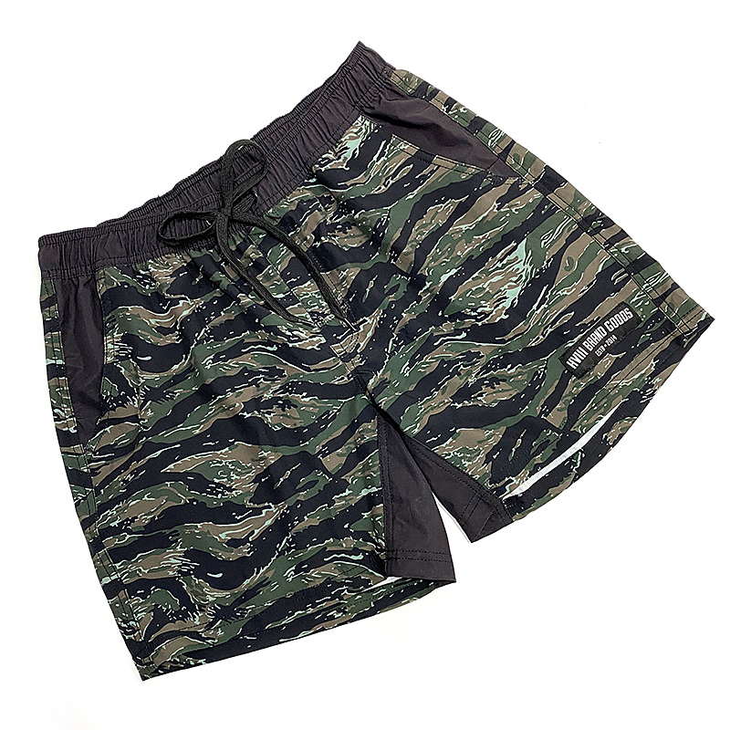 High Quality Men's Custom Camo Training Shorts Wholesale