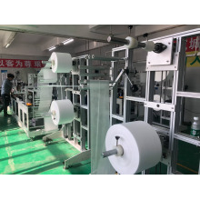 KN95 Protective face masks making machine