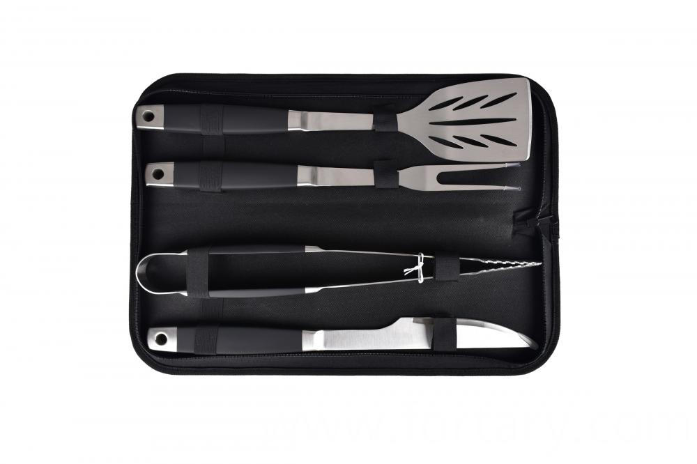 4pcs Bbq Tools Set with Knife