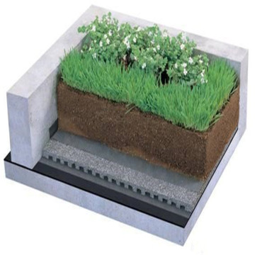 Plastic Green Roof Waterproofing Dimple Drainage Board