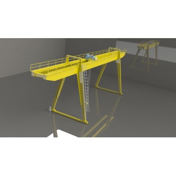 25 ton emergency stop system included gantry crane in gantry cranes