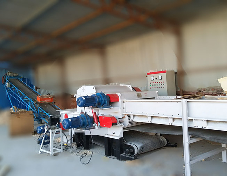 Wood Logs Chipping Machinery