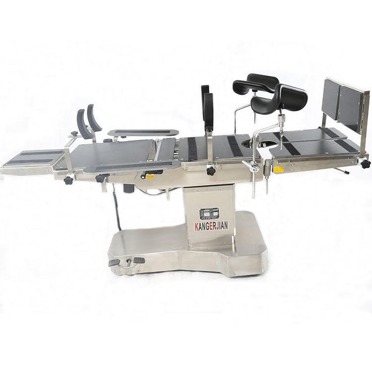 Factory equipment electric surgical operation bed table