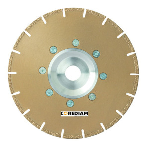 Vacuum Brazed Saw Blade with Flange