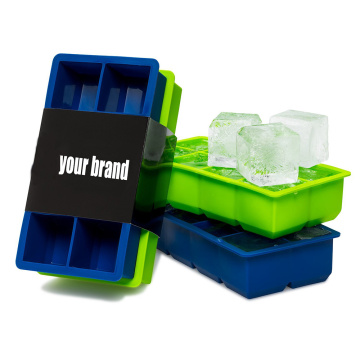 Wholesale Reusable Silicone Ice Cube Trays