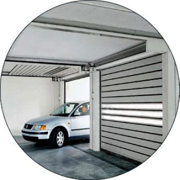 High Speed ​​Roller Shutter Door neAluminium